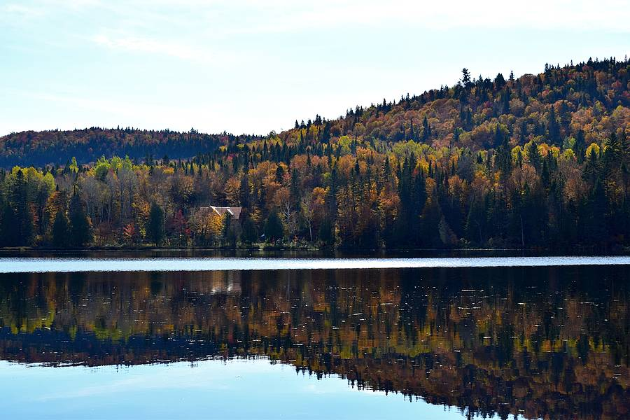 Lac automne Québec