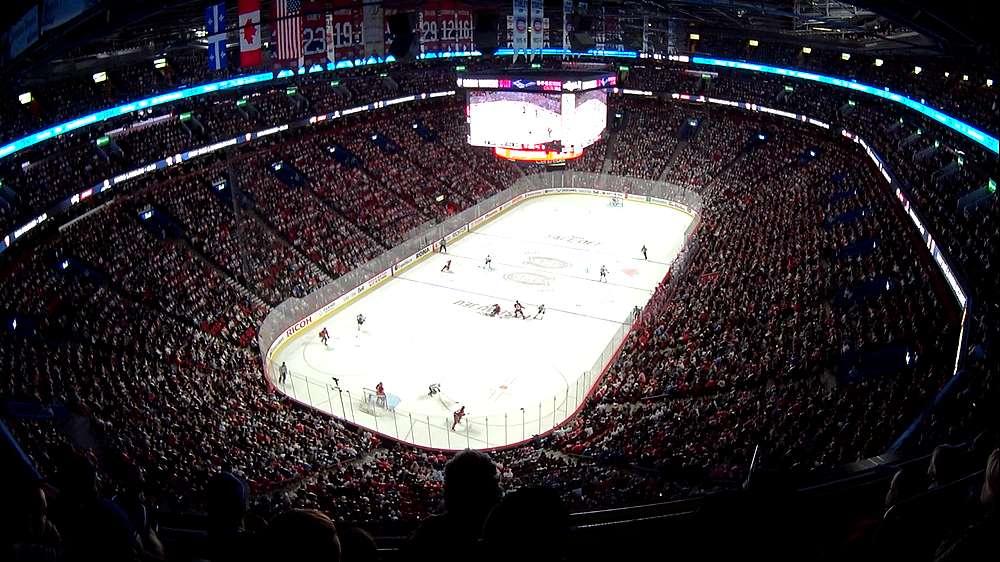 Match hockey sur glaceau Canada