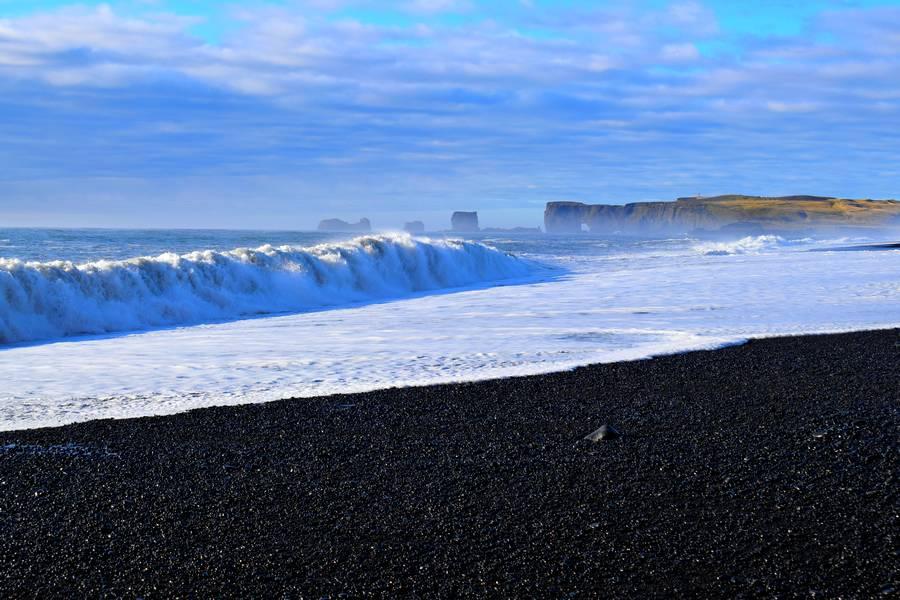 Plage noire Islande
