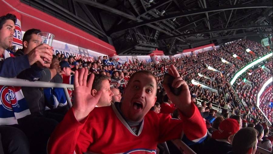 Supporter canadiens