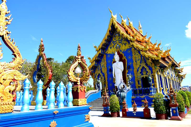 Wat Rong Seua Ten chiang rai