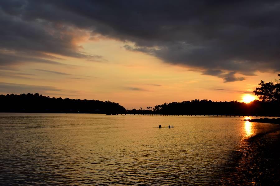 Koh chang en tha lande moi cam l on - Le soleil se couche a quel heure ...
