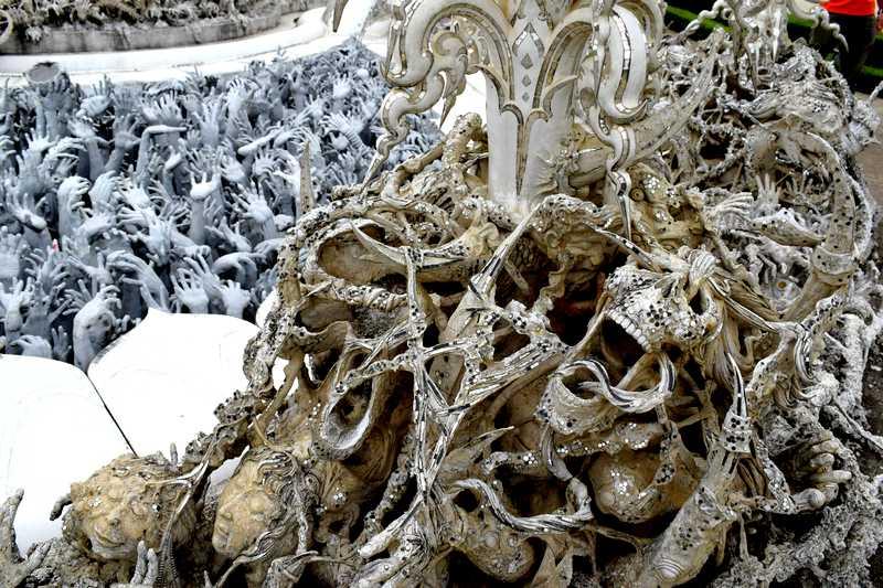 enfer Wat Rong Khun
