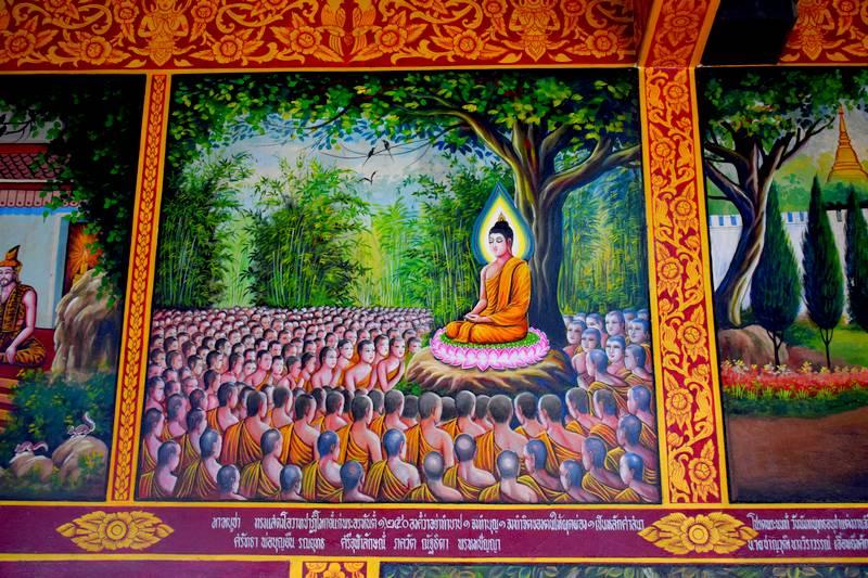 peintures temple Chiang Man