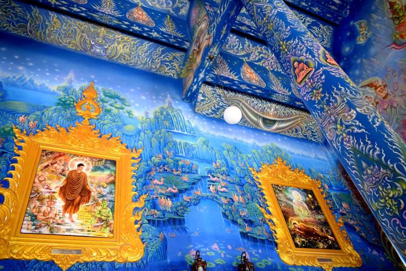 temple bleu chiang rai