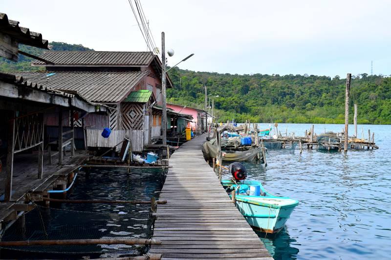 village pecheur Ao Yai