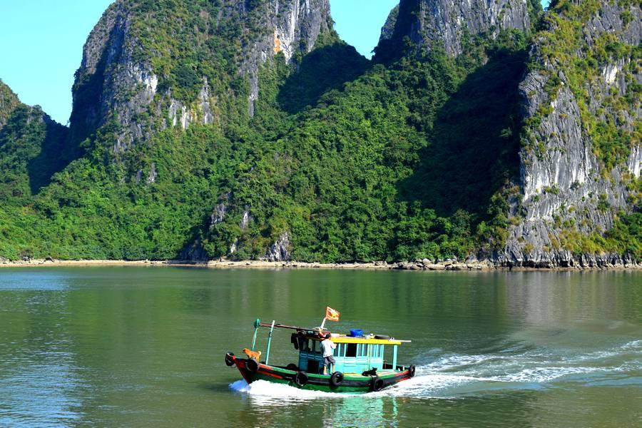 bateau vietnamien