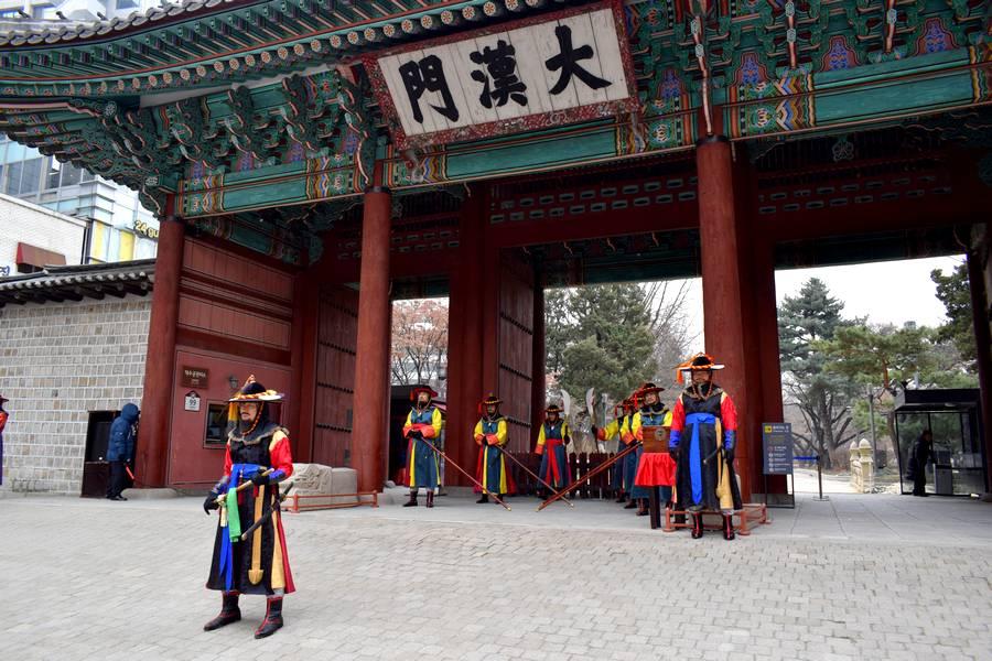 Garde temple Séoul