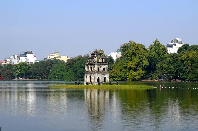 Lac de l'épée Hanoi