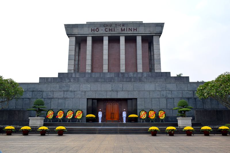 mausolee hanoi