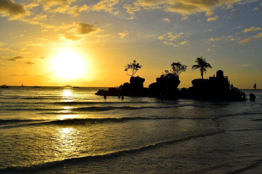 Coucher de soleil Boracay