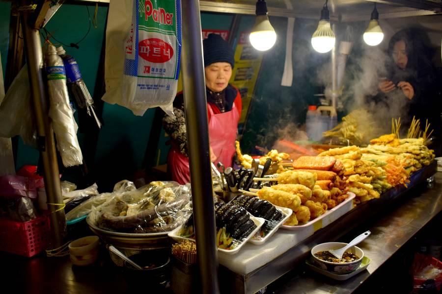 Street food Séoul