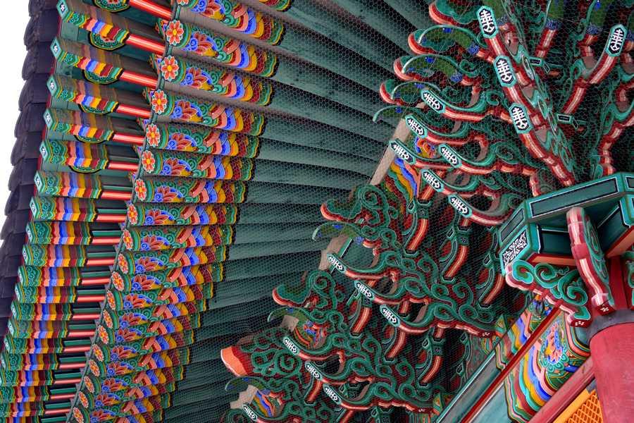 Temple Corée du Sud