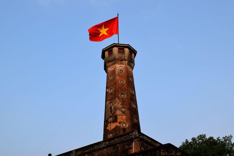 tour du drapeau hanoi