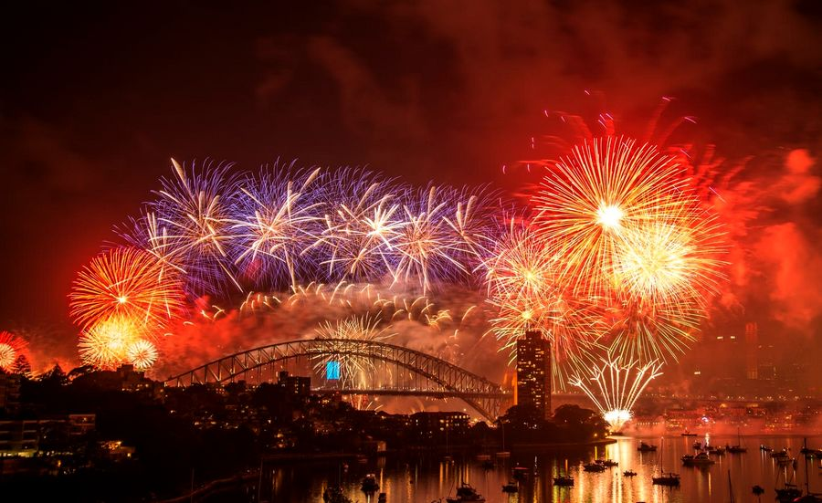 Feu artifice de Sydney