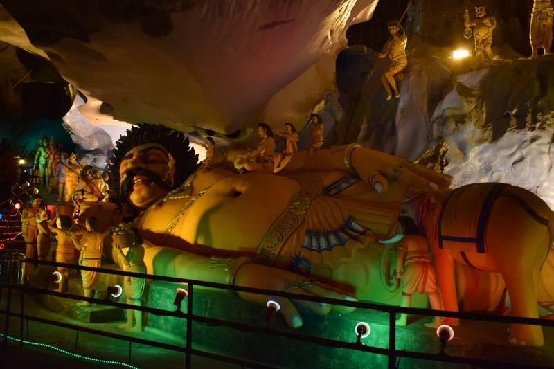 grottes de Ramayana