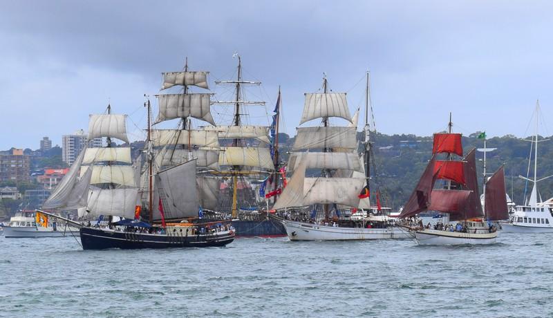 Défilé bateau Australie