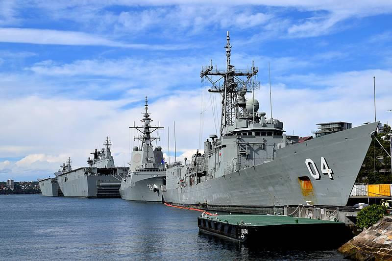 base navale sydney