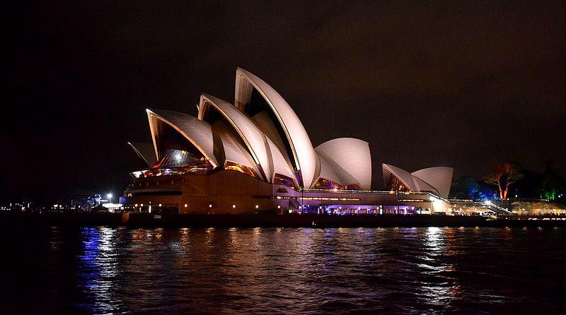 Opéra Sydney nuit