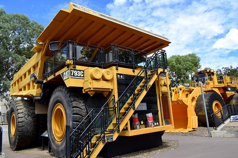 camion mine australie