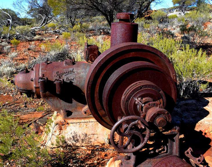 vieux moteur diesel
