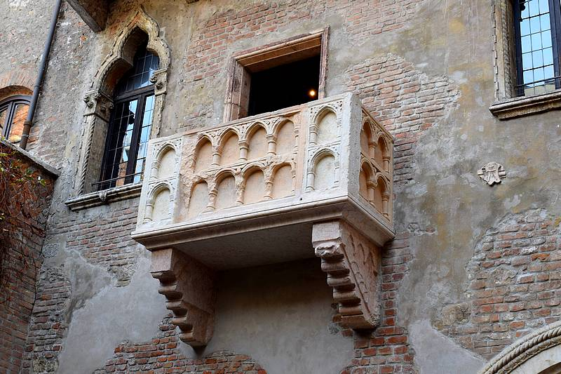 balcon maison de juliette verone