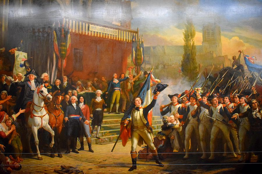 tableau peinture revolution