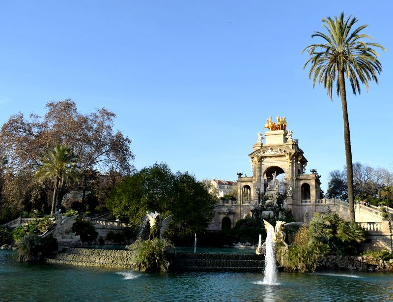 fontaine Parc de la Ciutadella