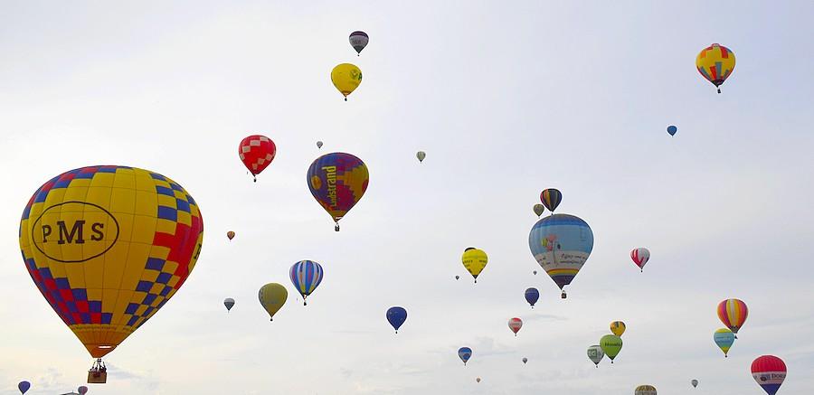 belles montgolfieres