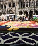 tapis fleur bruxelles