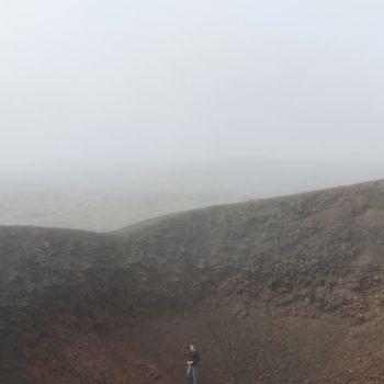 piton de la fournaise ile réunion brouillard