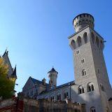 château Neuschwanstein cour