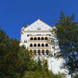 château Neuschwanstein dessous