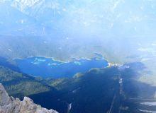 lac eibsee vue Zugspitze