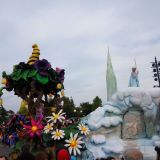 parade disneyland paris reine des neiges