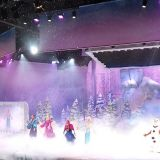 reine des neiges spectacle disneyland paris