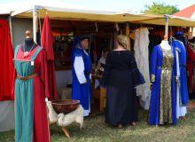 vendeur costume médiévale